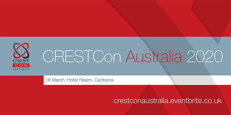CRESTCon Australia 2020 Banner