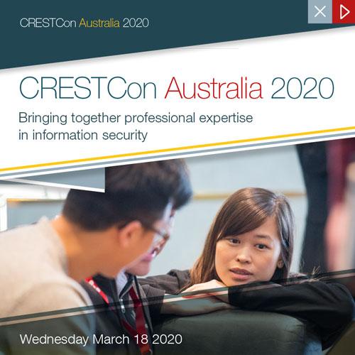 CRESTCon AU 2020 Brochure