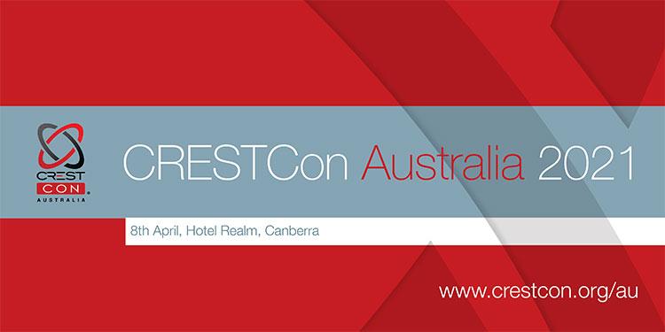 CRESTCon Australia 2021 Banner