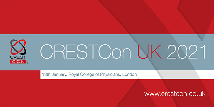 CRESTCon UK 2021 Banner