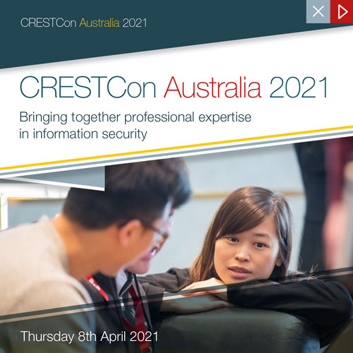 CRESTCon AU 2021 Brochure