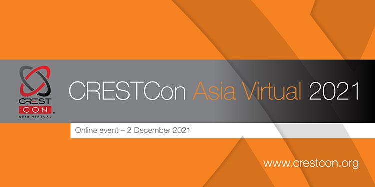 CRESTCon ASIA 2021 Banner